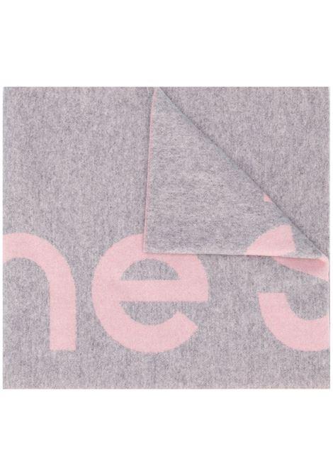 Acne Studios sciarpa toronty logo donna light pink grey ACNE STUDIOS | Sciarpe | CA0079CHS