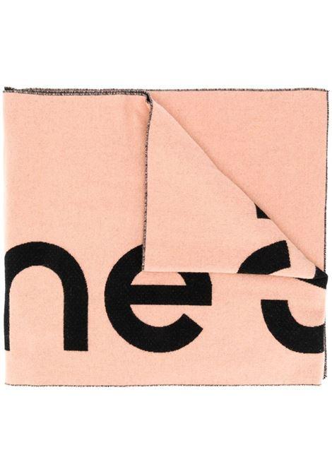 Acne Studios sciarpa toronty logo donna pink black ACNE STUDIOS | Sciarpe | CA0090BR0
