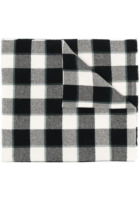 Acne Studios sciarpa cassiar check donna grey black white ACNE STUDIOS | Sciarpe | CA0103BAN