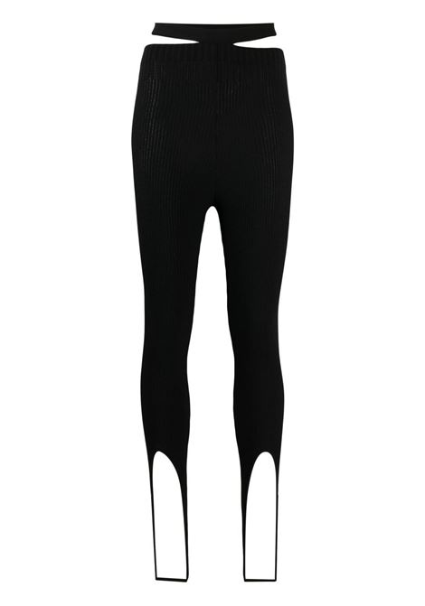 Adamo leggings a costine donna black ADAMO | Leggings | ADSS21LE010143720372