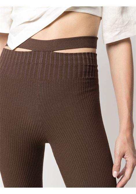 Adamo leggings brown women ADAMO | ADSS21LE020144710471