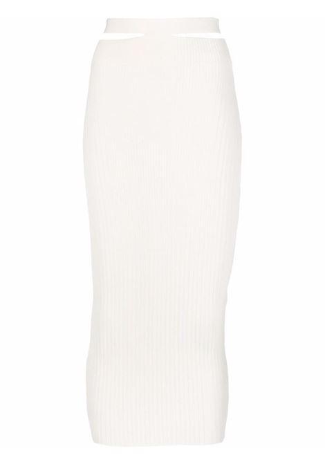 Adamo fitted skirt women ivory ADAMO | Skirts | ADSS21SK010140600060