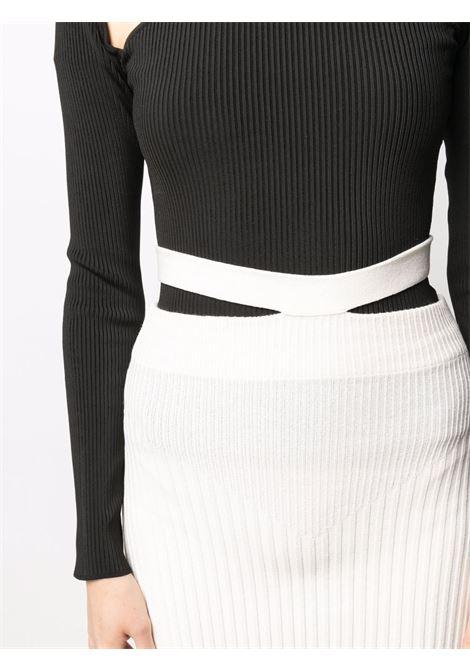 Adamo fitted skirt women ivory ADAMO | ADSS21SK010140600060