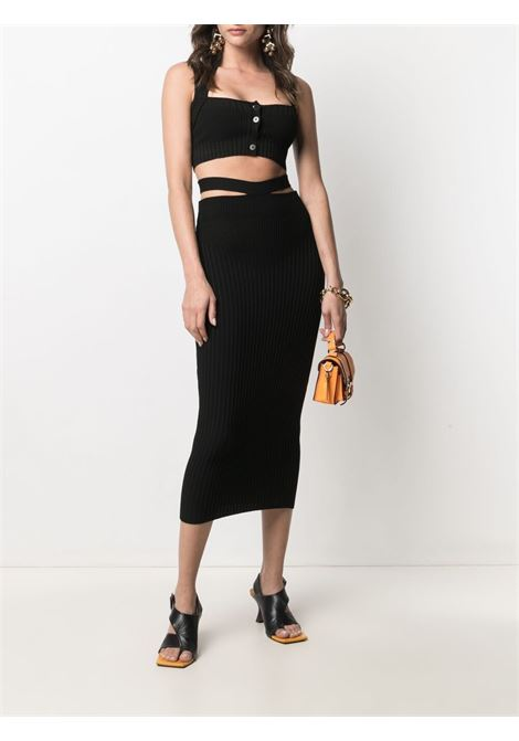 Adamo skirt women black ADAMO | ADSS21SK010143720372