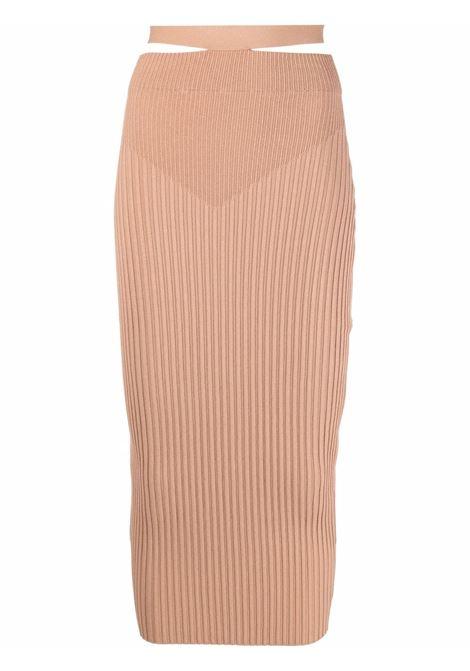 Adamo fitted skirt women nude ADAMO | Skirts | ADSS21SK010144700470