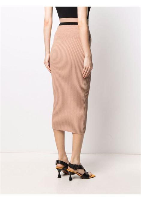 Adamo fitted skirt women nude ADAMO | ADSS21SK010144700470