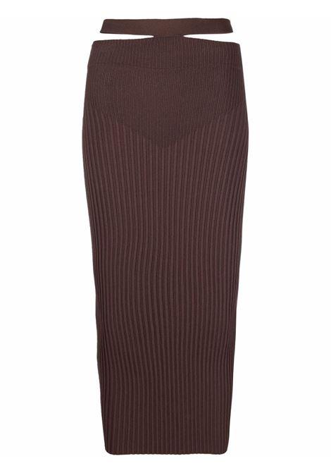 Adamo fitted skirt women nude ADAMO | Skirts | ADSS21SK030144710471