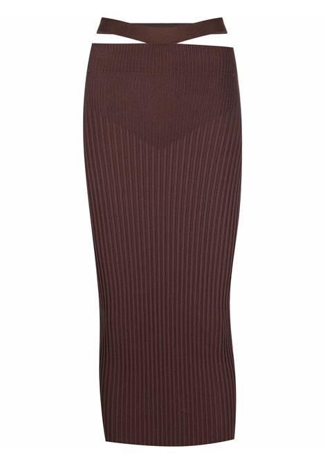 Adamo fitted skirt women nude ADAMO | ADSS21SK030144710471