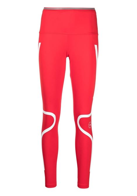 Adidas By Stella Mc Cartney leggings da allenamento donna red ADIDAS BY STELLA MC CARTNEY | Leggings | GL7380VVRD