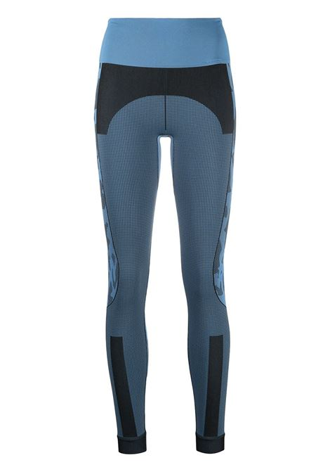 Adidas By Stella Mc Cartney leggings a contrasto donna blu black ADIDAS BY STELLA MC CARTNEY | Leggings | GL7584BLBLK