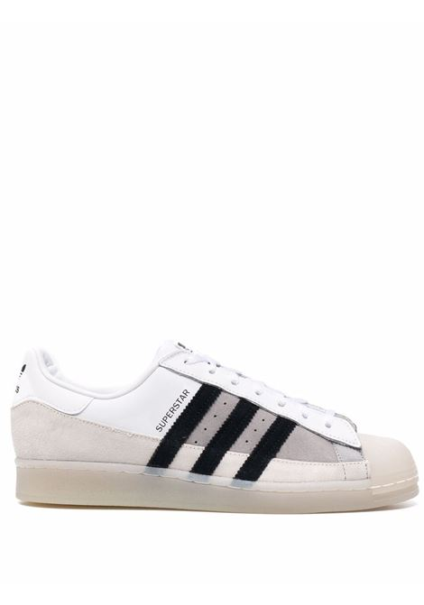 Superstar sneakers  white, beige and grey - men ADIDAS | Sneakers | FX5565FTWRWHT