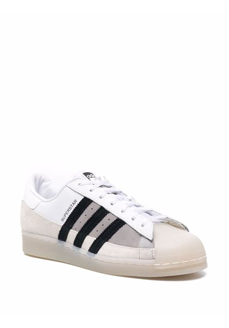 Superstar sneakers  white, beige and grey - men ADIDAS   FX5565FTWRWHT