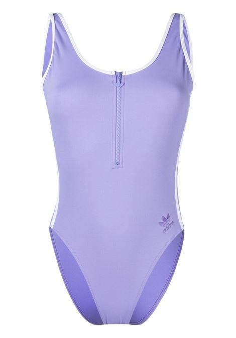 Adidas adicolor primeblue one-piece swimsuit women light purple ADIDAS | Swimwear | GN2921LGHTPRPL