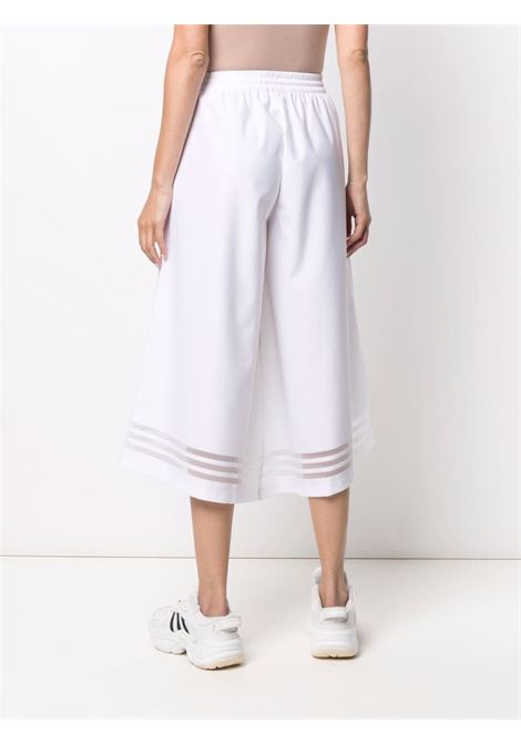 White wide leg trousers - women ADIDAS | GN3181WHT