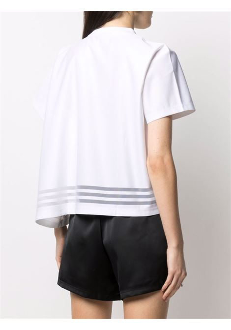 Embroidered-logo t-shirt ADIDAS   GN3189WHT