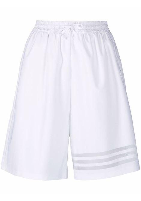 Sheer-striped shorts women ADIDAS | Shorts | GN3256WHT