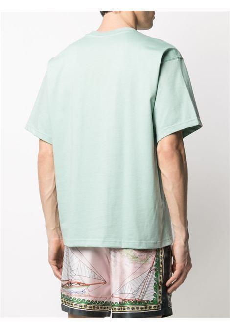 Adicolor Premium organic cotton T-shirt ADIDAS   GN3377HZGRN