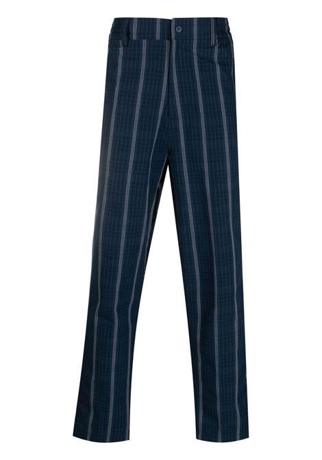 Adidas pantaloni a righe uomo collegiate navy ADIDAS | Pantaloni | GN3796CNVY