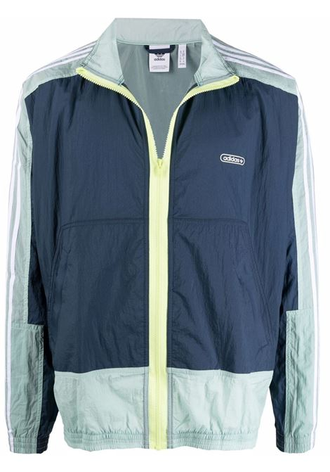 Zip-front track jacket men  ADIDAS   GN3832CRWNVY