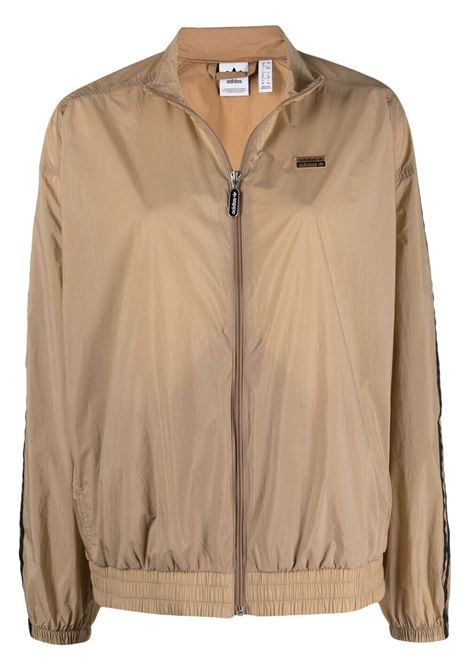 Adidas giacca sportiva con logo donna cardboard ADIDAS | Capispalla | GN4271CRDBRD