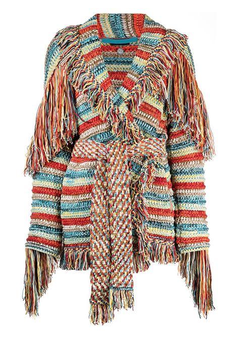 Fringed cardigan ALANUI | Sweaters | LWHB044S21KNI0078585