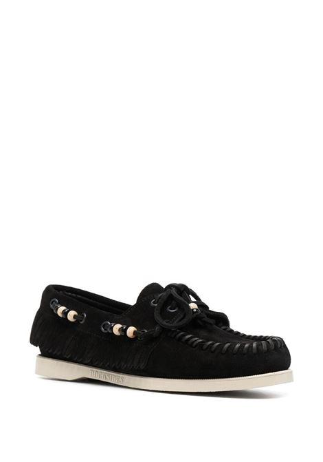 Alanui dockside loafers women black ALANUI | LWIG001S21LEA0011010