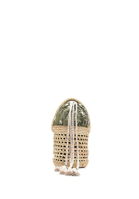 Alanui bucket bag women beige military green ALANUI | Mini bags | LWKN001S21MAT0012356