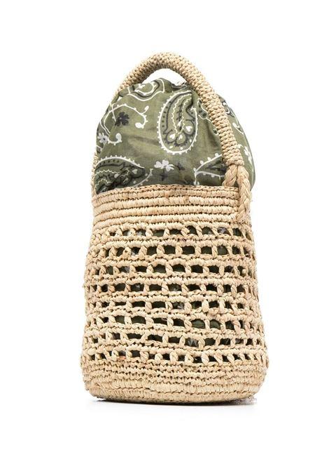 Alanui bucket bag women beige military green ALANUI | LWKN001S21MAT0012356