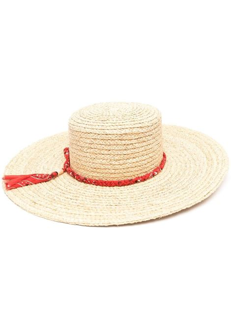 Braided band sun hat 