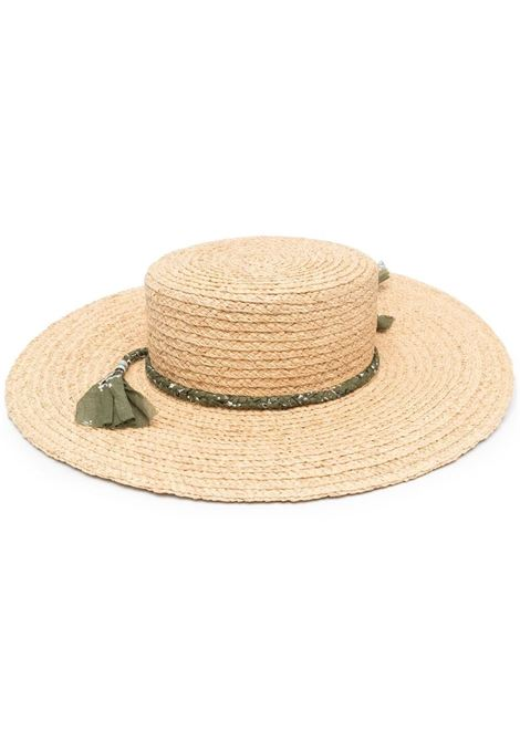 Alanui sun hat women beige military green ALANUI | Hats | LWLA010S21MAT0012356