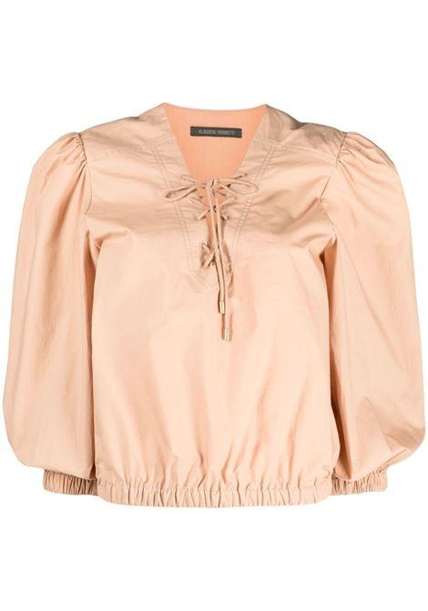Tie neck blouse ALBERTA FERRETTI | Blouses | A021512616