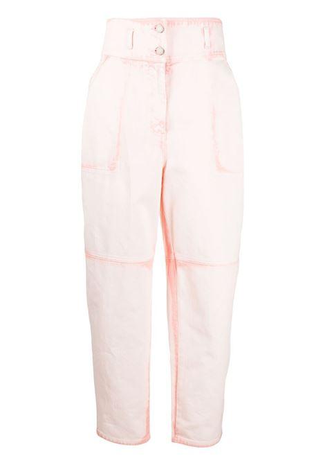 Alberta ferretti high-waisted trousers women fantasia rosa ALBERTA FERRETTI | Trousers | A03181811070