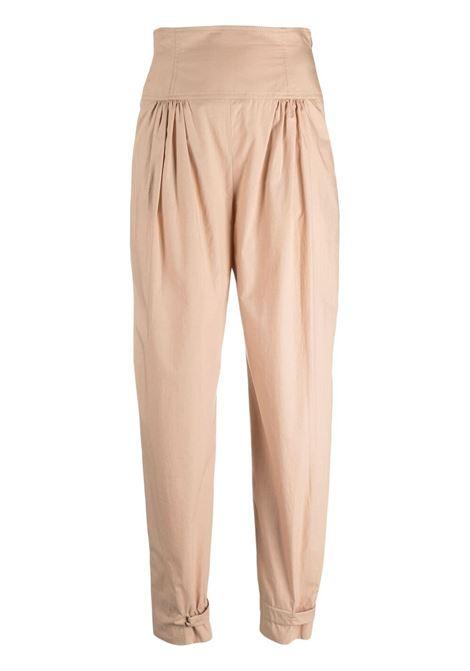 Alberta ferretti high-waisted trousers women beige ALBERTA FERRETTI | Trousers | A032212616