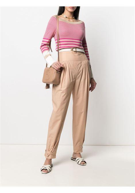 Alberta ferretti high-waisted trousers women beige ALBERTA FERRETTI   A032212616