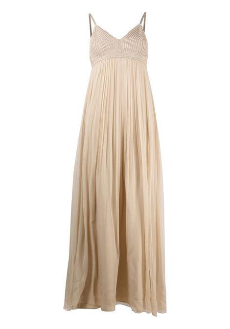 Crochet-panel maxi dress  ALBERTA FERRETTI | Dresses | A042711481