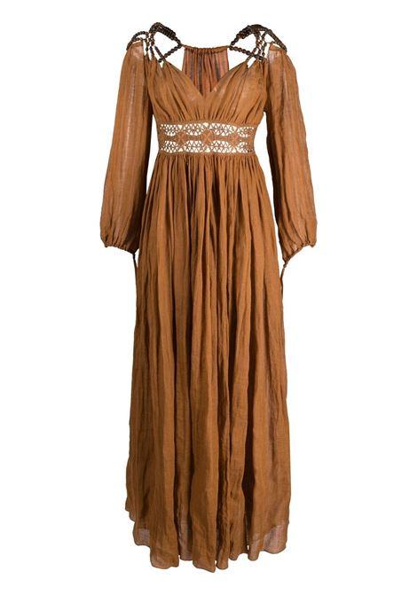 Bead-embellished maxi dress ALBERTA FERRETTI | Dresses | A043612487