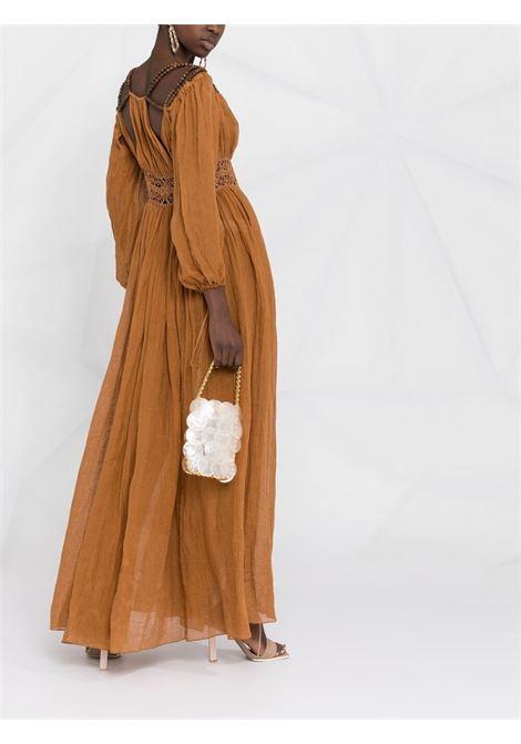 Bead-embellished maxi dress ALBERTA FERRETTI   A043612487