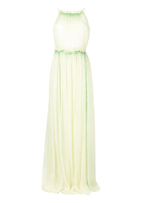 Alberta ferretti halterneck dress women fantasia verde ALBERTA FERRETTI | Dresses | A04501481455
