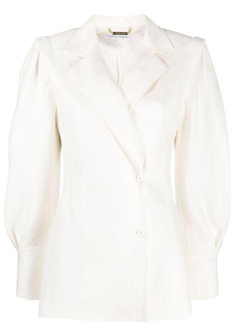 Single-breasted fitted blazer ALBERTA FERRETTI | Blazers | A05031212