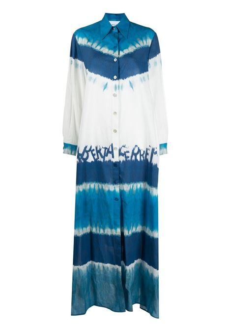 Alberta ferretti tie-dye dress women fantasia blu ALBERTA FERRETTI | Dresses | J04751461342