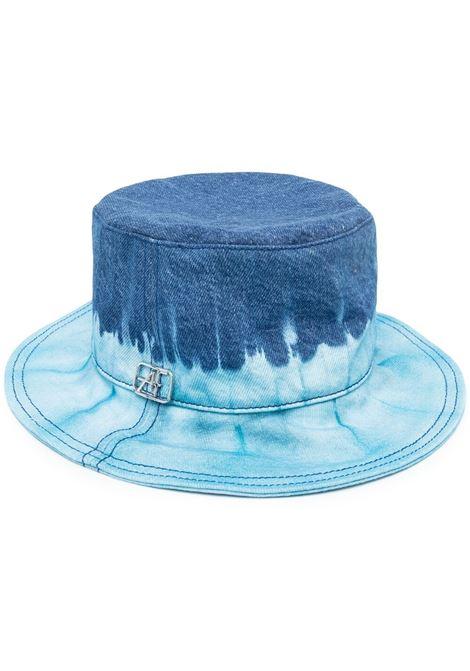 Alberta Ferretti cappello con fantasia tie dye donna fantasia blu ALBERTA FERRETTI | Cappelli | J36011821342