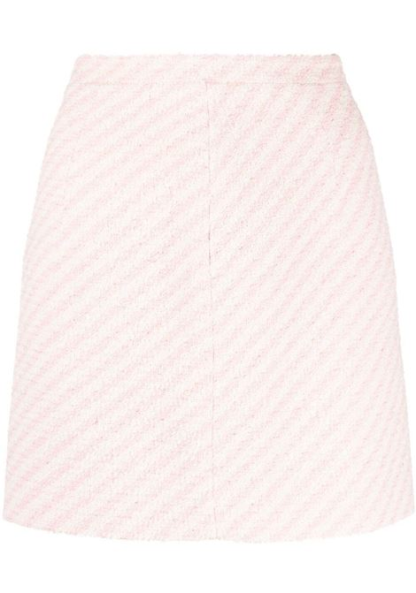 Striped mini skirt ALESSANDRA RICH | Skirts | FAB1441F31721816