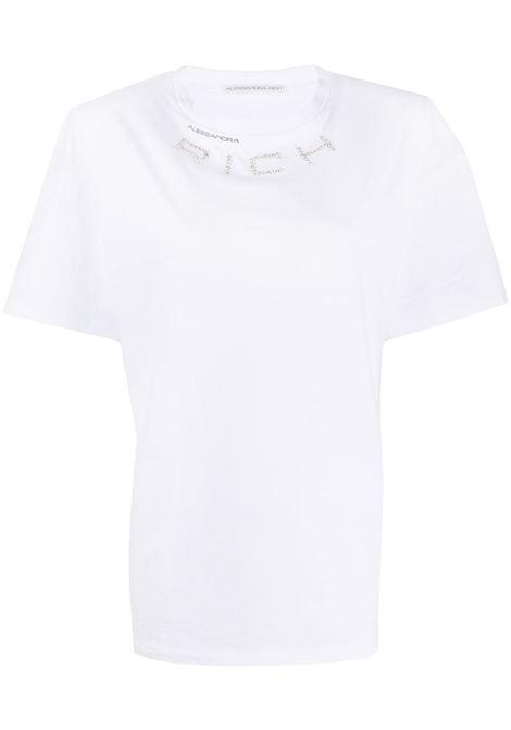 T-shirt con decorazione Donna ALESSANDRA RICH | T-shirt | FAB1895F2876822