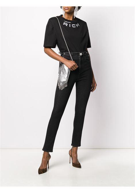 T-shirt con dettaglio in cristallo Donna ALESSANDRA RICH | FAB1895F2876900