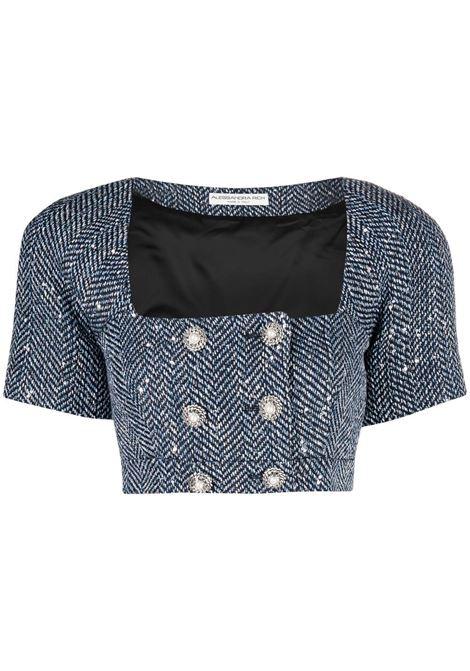 Cropped blazer ALESSANDRA RICH | Blazers | FAB2352F31881944