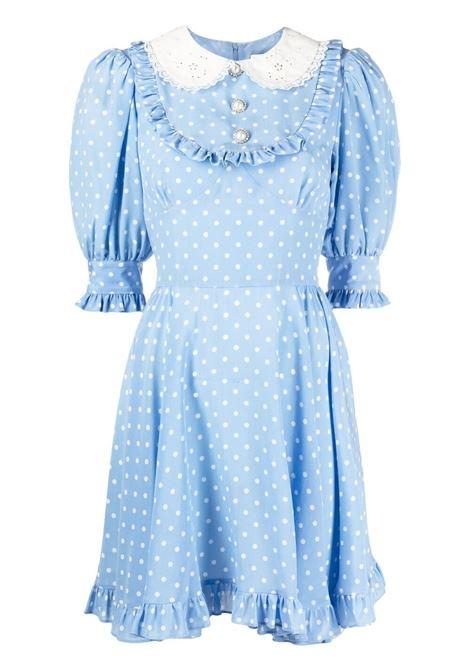 Polka-dot mini dress ALESSANDRA RICH | Dresses | FAB2398F31321674