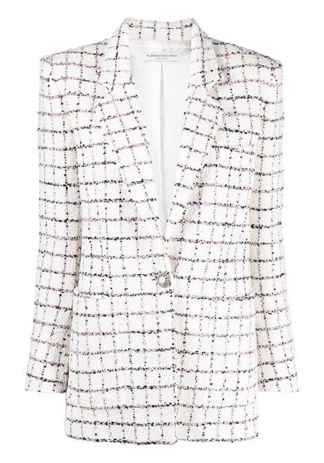 Alessandra Rich giacca monopetto donna white ALESSANDRA RICH   Giacche   FAB2414F3170822