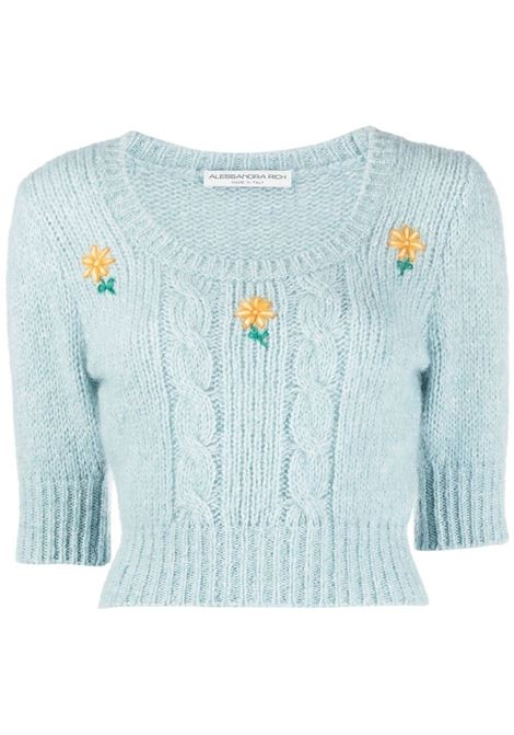 Knitted jumper ALESSANDRA RICH | Sweaters | FAB2461K321218359