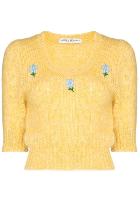 Knitted jumper ALESSANDRA RICH | Sweaters | FAB2461K321218362