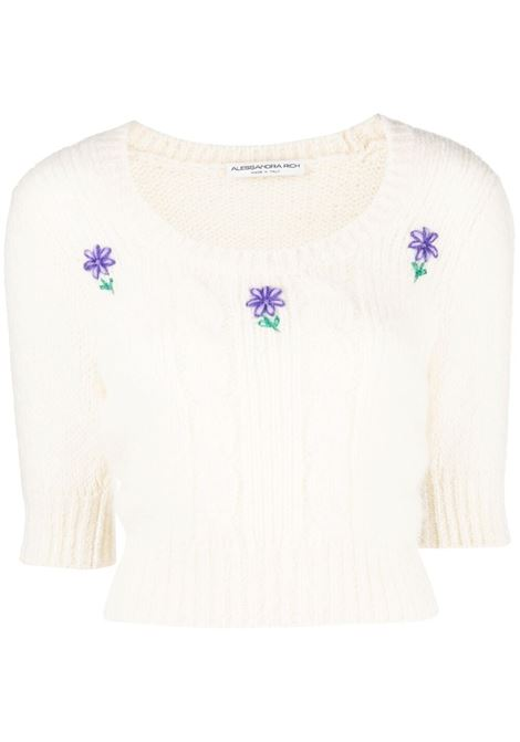 Knitted jumper ALESSANDRA RICH | Sweaters | FAB2461K321218811